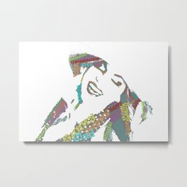 Happy woman II Metal Print