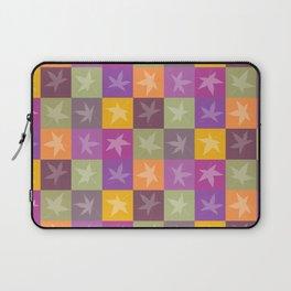Autumn Checkerboard Laptop Sleeve