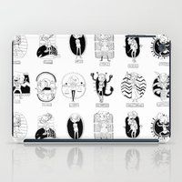 astrology iPad Cases featuring Natural Astrology by Coily and Cute