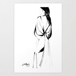 Zac Posen Art Print