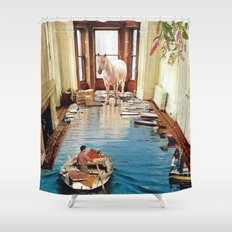 Is There A Prize at the End of All This Shower Curtain