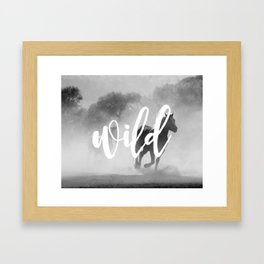 MANTRA SERIES: Wild Framed Art Print