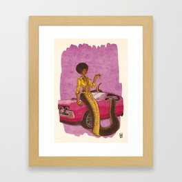 04 - Naga Framed Art Print