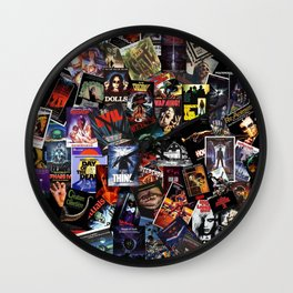 Horror Movie Vintage Collection Wall Clock