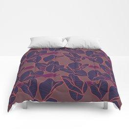 O ke kalo a me ke aholehole (hikina) Comforters