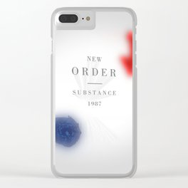 Substance Inspired Clear iPhone Case