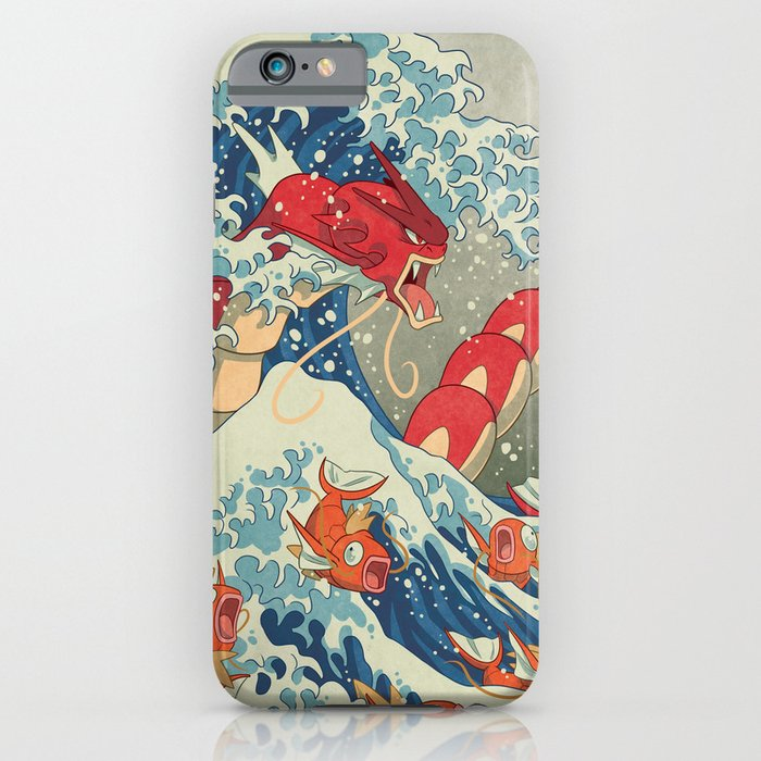 the great red wave i iphone case