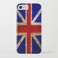 british flag iPhone & iPod Cases featuring British Flag by Jason Michael
