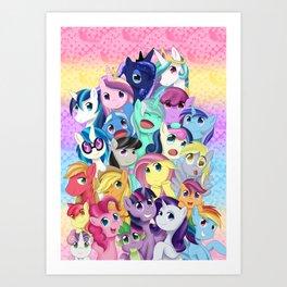 Pastel Magic Art Print
