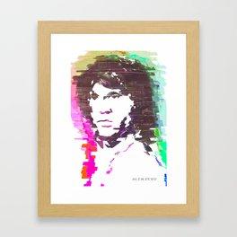 JIM Framed Art Print