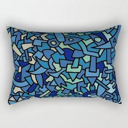 - abyssal dance - Rectangular Pillow