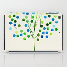 Tree of Life Aqua  by Jacqueline Maldonado & Garima Dhawan iPad Case