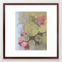 Clockwork Framed Art Print
