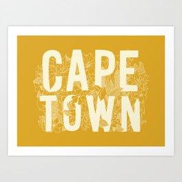 Destination Cape Town Art Print