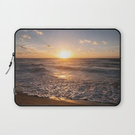 Sunset at dawn in the beach Laptop Sleeve