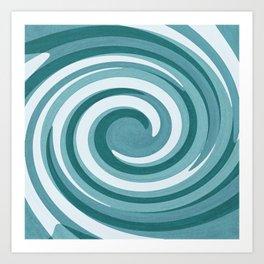 Twirling Art Print