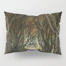 Dark Hedges alley in northern Ireland Pillow Sham