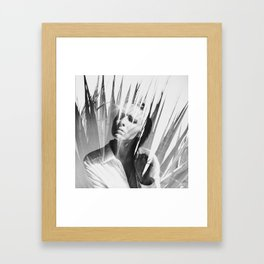 summer sadness Framed Art Print