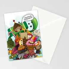 Chestnut Katamari Stationery Cards