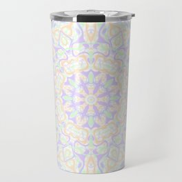 Pastel Kaleidoscope 2 Travel Mug