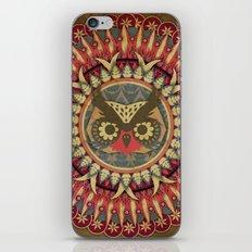 Vintage Owl iPhone Skin