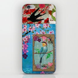 King of Cherry Blossom iPhone Skin