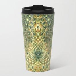 Lifeforms | Ancient geometry Travel Mug