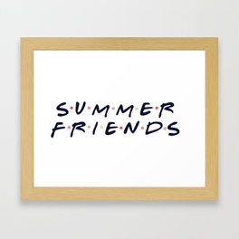 Summer Friends - Chance the Rapper Framed Art Print