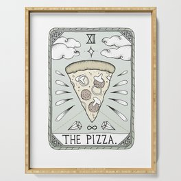 The Pizza Serving Tray