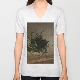 """""""Rumble in the Jungle"""" Unisex V-Neck"""