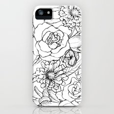 Flowers Slim Case iPhone (5, 5s)