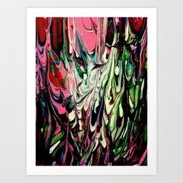 Psychedelic Flow Art Print
