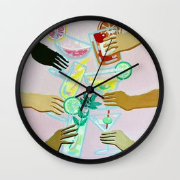 Better With Friends Wall Clock