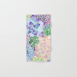 Masked Flora Collection Succulents Hand & Bath Towel
