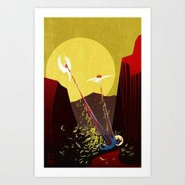 Strappado Art Print