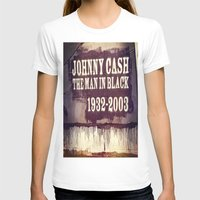 johnny cash T-shirts featuring Johnny Cash by Dan99
