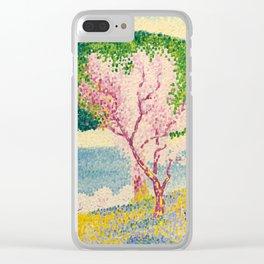 "Henri-Edmond Cross ""Printemps Rose (Pink Spring)"" Clear iPhone Case"