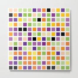 City Blocks - Eggplant #490 Metal Print