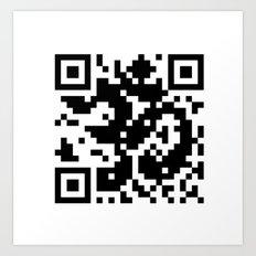 Code Om Art Print