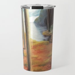 The Cottage at the Edge of Redleaf Travel Mug
