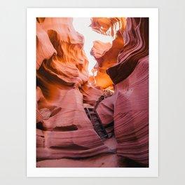 Lower Antelope Canyon, Arizona. Art Print
