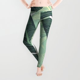 BANANA LEAVES 2 Leggings