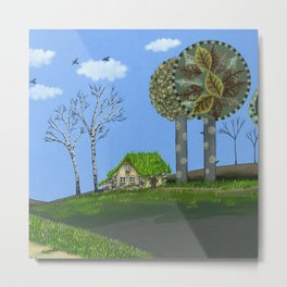 Dream Refuge Metal Print
