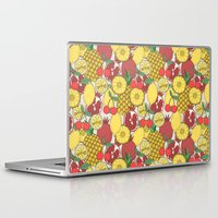 fruit Laptop & iPad Skins featuring Fruit by Valendji