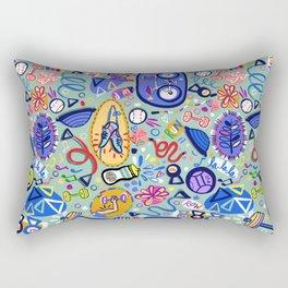 Exercise Fun! Rectangular Pillow