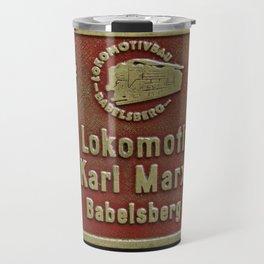 VEB Lokomotivbau Karl Marx, Babelsberg Travel Mug