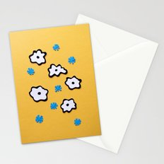 Dutch Flowers on Yellow Stationery Cards