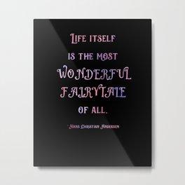Wonderful Fairytale 1 Metal Print
