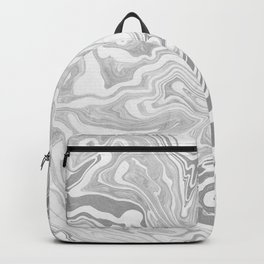 Gray Marble paper Backpack
