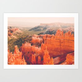 Bryce Canyon Hoodoos Fine Art Print Art Print